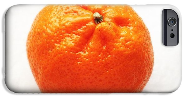 Bright iPhone 6 Case - Tangerine by Matthias Hauser