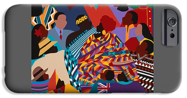 iPhone 6 Case - The International Decade by Synthia SAINT JAMES