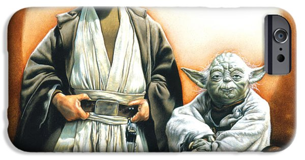 Yoda iPhone 6 Case - The Masters by Edward Draganski