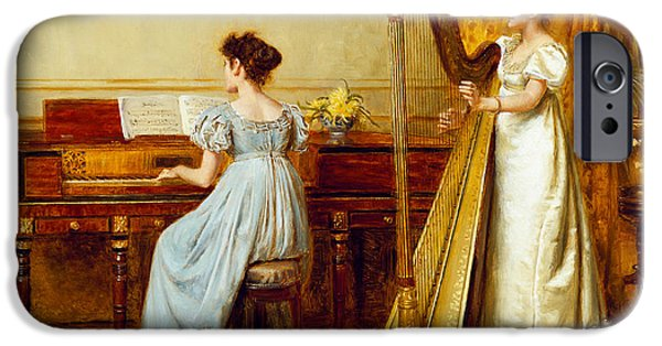 20th iPhone 6 Case - The Music Room by George Goodwin Kilburne