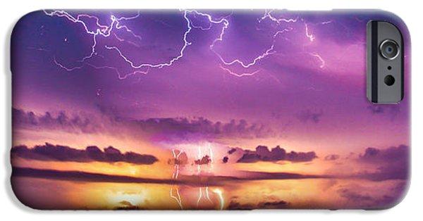 Nebraskasc iPhone 6 Case - The Sky Was Talking To Me... Part 2 by NebraskaSC