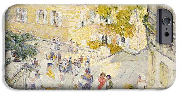 Spanish Steps IPhone 6 Case   The Spanish Steps Of Rome By Childe Hassam