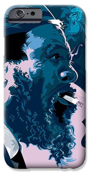 Buddhism iPhone 6 Case - Thelonius Monk by Garth Glazier
