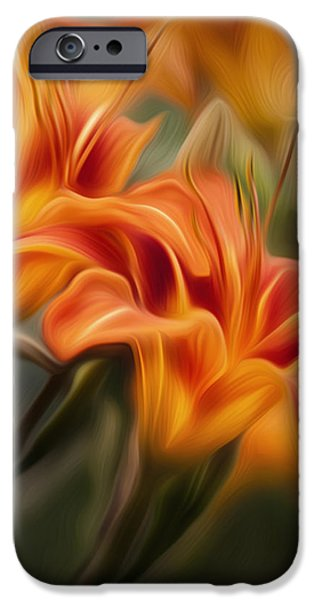 Tiger Lily IPhone 6 Case by Bill Wakeley