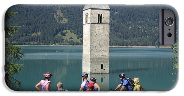 Tower In The Lake IPhone 6 Case by Travel Pics