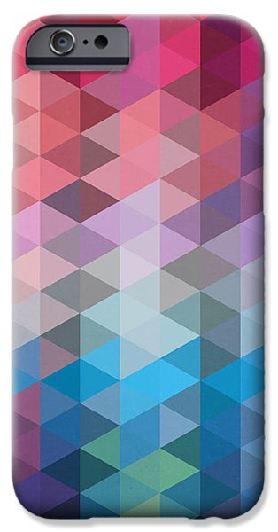 Dissing iPhone 6 Case - Triangles by Mark Ashkenazi