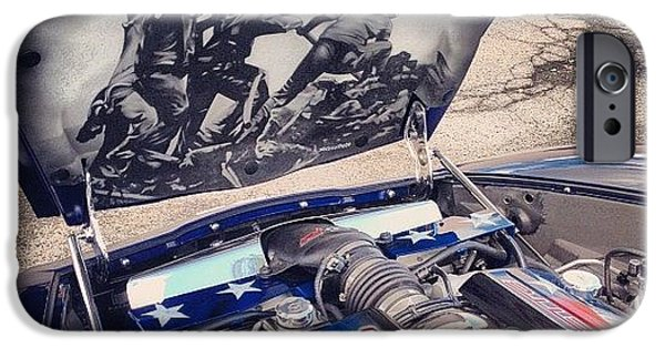Tribute #corvette To All Veterans #usa IPhone 6 Case