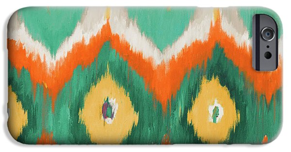 Pattern iPhone 6 Case - Tropical Ikat II by Patricia Pinto