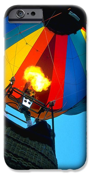 Hot Air Balloon iPhone Cases - Up Up and Away iPhone Case by Bill Caldwell -        ABeautifulSky Photography