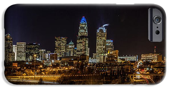 Uptown Charlotte Panorama IPhone 6 Case