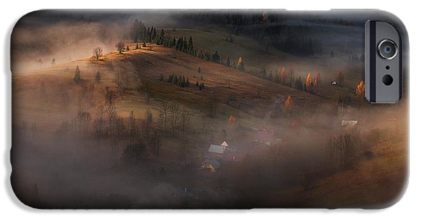 Village iPhone 6 Case - Village Under The Cover by Peter Svoboda, Mqep