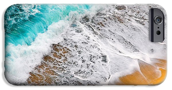 Waves Abstract IPhone 6 Case by Silvia Ganora