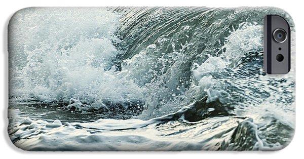 Water Ocean iPhone 6 Case - Waves In Stormy Ocean by Elena Elisseeva