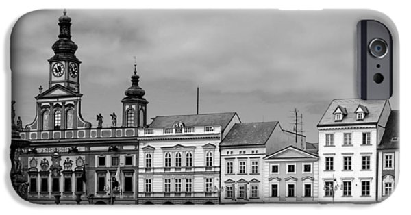Budejovice iPhone Cases - Welcome to Ceske Budejovice - Budweis Czech Republic iPhone Case by Christine Till