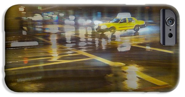 IPhone 6 Case featuring the photograph Wet Pavement by Alex Lapidus