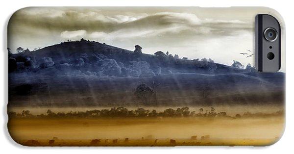 iPhone 6 Case - Whisps Of Velvet Rains... by Holly Kempe