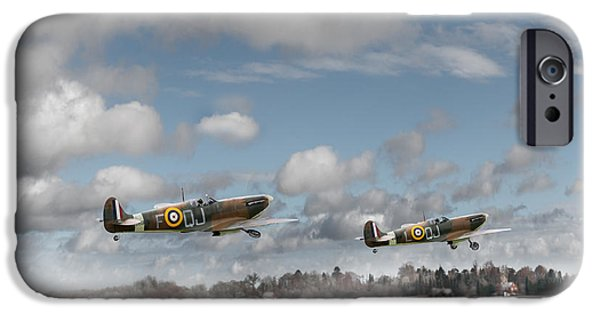 Winter Ops Spitfires IPhone 6 Case by Gary Eason