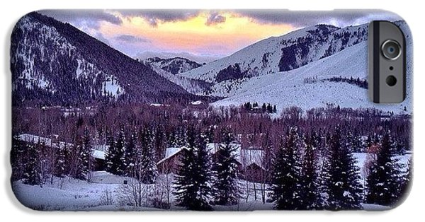 #winter #sunsets #ketchum #idaho IPhone 6 Case