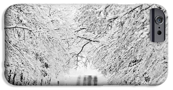 IPhone 6 Case featuring the photograph Winter Wonderland by Ricky L Jones