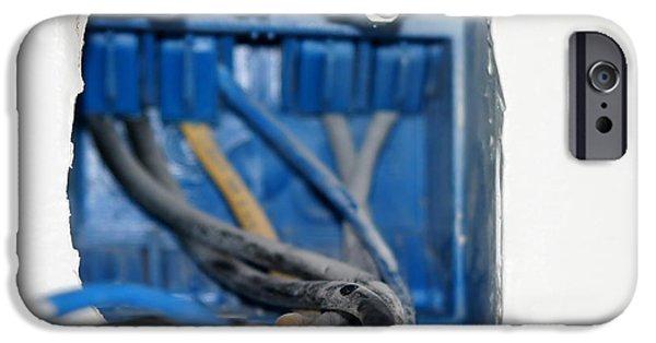 Safety Fuse iPhone 6 Case - Wire Box by Henrik Lehnerer
