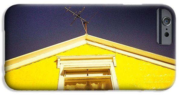 House iPhone 6 Case - Yellow House In Akureyri Iceland by Matthias Hauser
