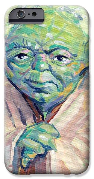Yoda iPhone 6 Case - Yoda by Kimberly Santini