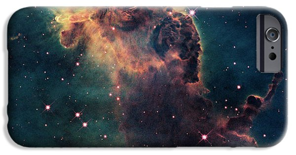 Star iPhone 6 Case - Young Stars Flare In The Carina Nebula by Nasa/esa