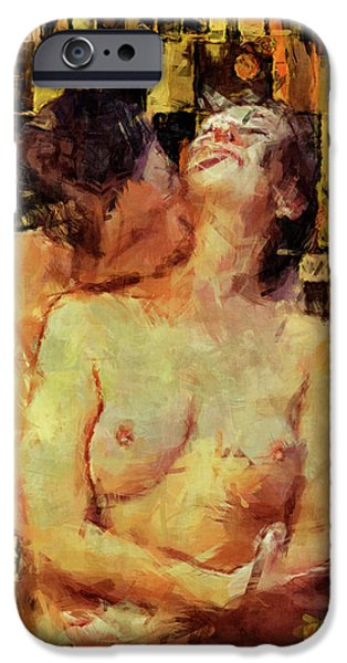 Nude Figurative iPhone 6 Case - You're Mine by Kurt Van Wagner