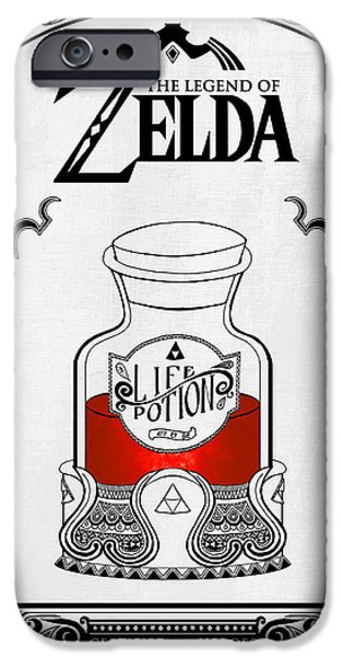 ZELDA LEGEND FAIRY NAVI DOODLE iphone case