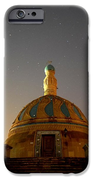 Baghdad iPhone Cases - Baghdad Mosque iPhone Case by Rick Frost