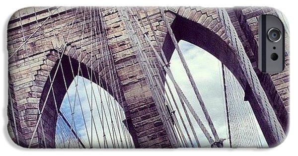 Summer iPhone 6 Case - Brooklyn Bridge by Randy Lemoine