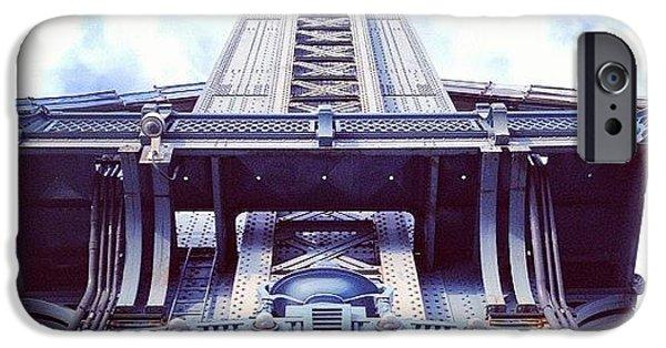 Architecture iPhone 6 Case - Manhattan Bridge by Randy Lemoine