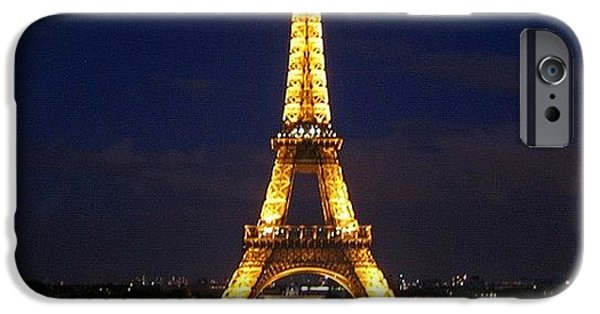 Light iPhone 6 Case - Paris By Night by Luisa Azzolini