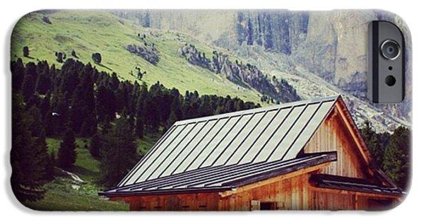 House iPhone 6 Case - Rosengarten - Dolomites by Luisa Azzolini