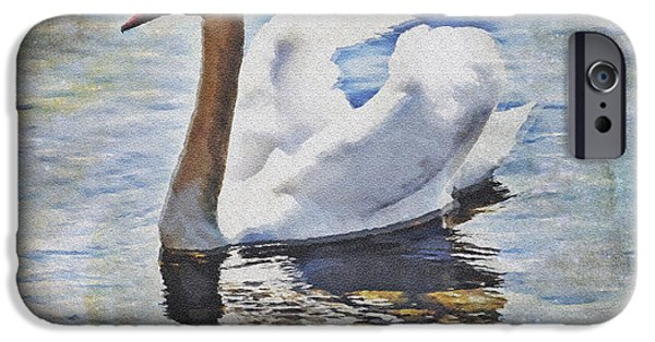 Lake iPhone 6 Case - Swan by Joana Kruse