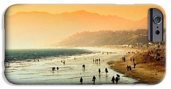 Amazing iPhone 6 Case - Santa Monica Beach by Luisa Azzolini