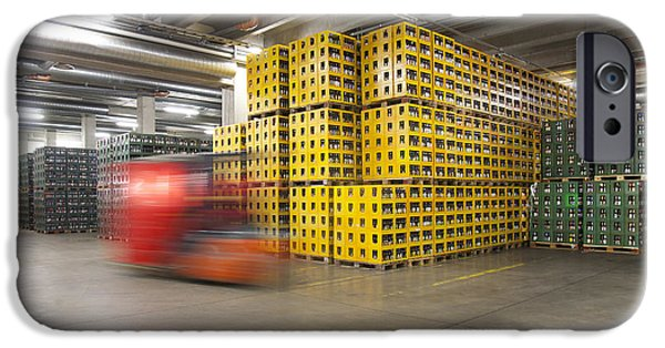 Storage Furniture iPhone Cases - A Modern Brewery Warehouse In Estonia iPhone Case by Jaak Nilson