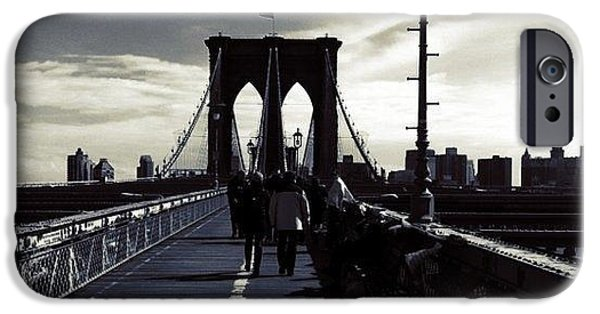 Afternoon On The Brooklyn Bridge IPhone 6 Case