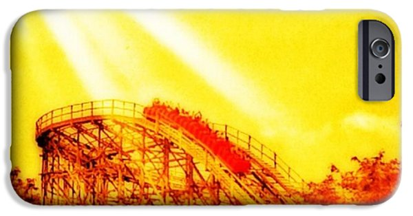 #amazing Shot Of A #rollercoaster At IPhone 6 Case by Pete Michaud