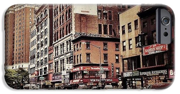 As The Rain Falls - New York City IPhone 6 Case