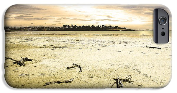 IPhone 6 Case featuring the photograph At Caroline Bay Timaru New Zealand by Nareeta Martin