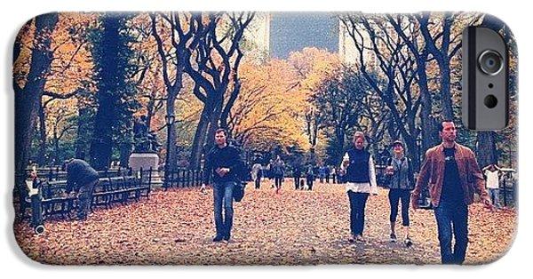 City iPhone 6 Case - Autumn by Randy Lemoine