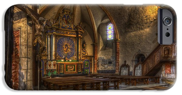 Baroque Church In Savoire France 2 IPhone 6 Case