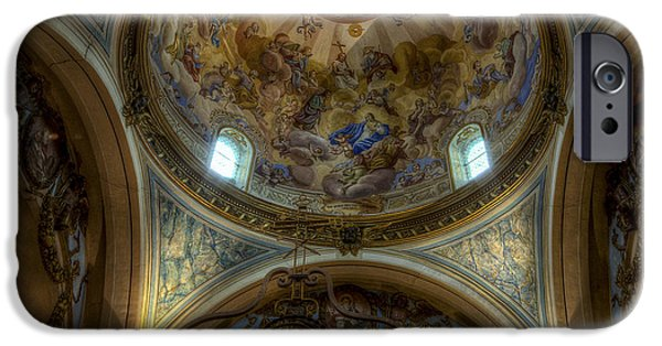 Baroque Church In Savoire France 5 IPhone 6 Case