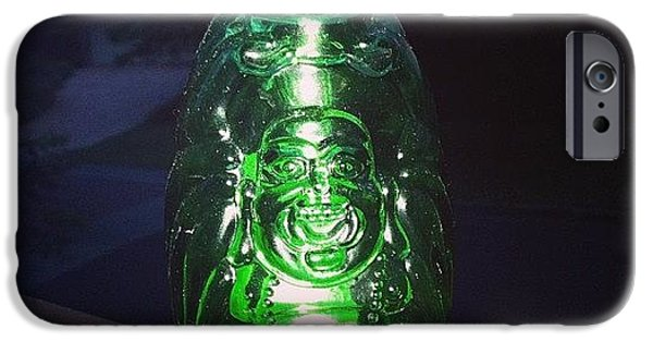 Decorative iPhone 6 Case - Buddha Beer Bottle #buddha #bottle by Shikoba Photography