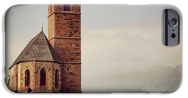Architecture iPhone 6 Case - Church Of Santa Giustina - Alto Adige by Luisa Azzolini