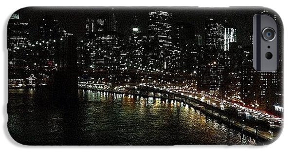 Light iPhone 6 Case - City Lights - New York by Joel Lopez