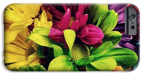 Colorful iPhone 6 Case - #colorful #flowers by Mandy Shupp