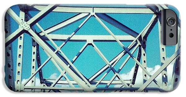 Cool #bridge #ohio IPhone 6 Case