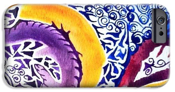iPhone 6 Case - Dreaming In Watercolors by Sandra Lira